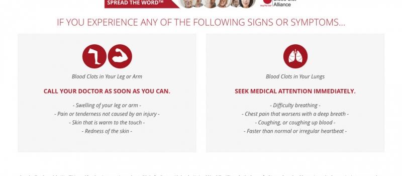 Signs Symptoms Chart