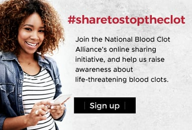 Share to Stop the Clot