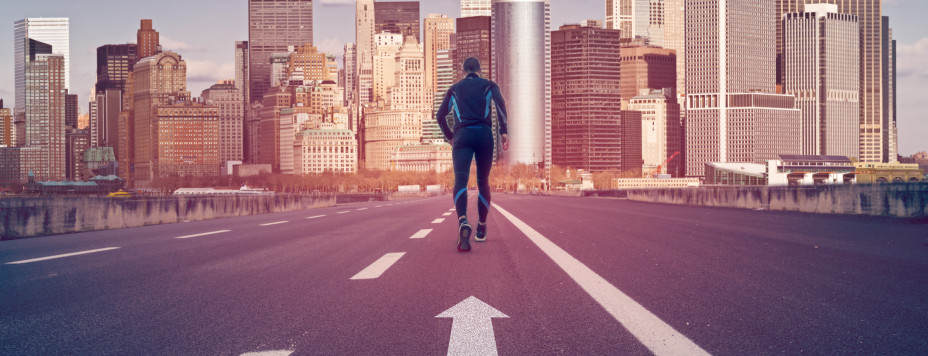 Road to new york city marathon