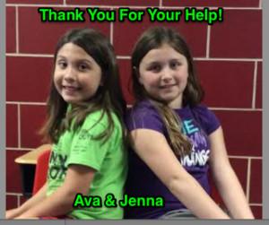 Ava and Jenna