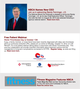 NBCA Newsletter Sept 2014