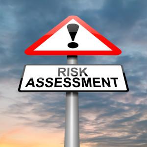 Risk assessment concept.