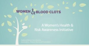 women and blood clots