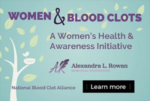 Women & blood clots