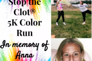 5K Color Run in Memory of Anna