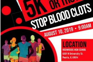 Deveraux Hubbard II Run, Walk, or Trot 2 Stop Blood Clots