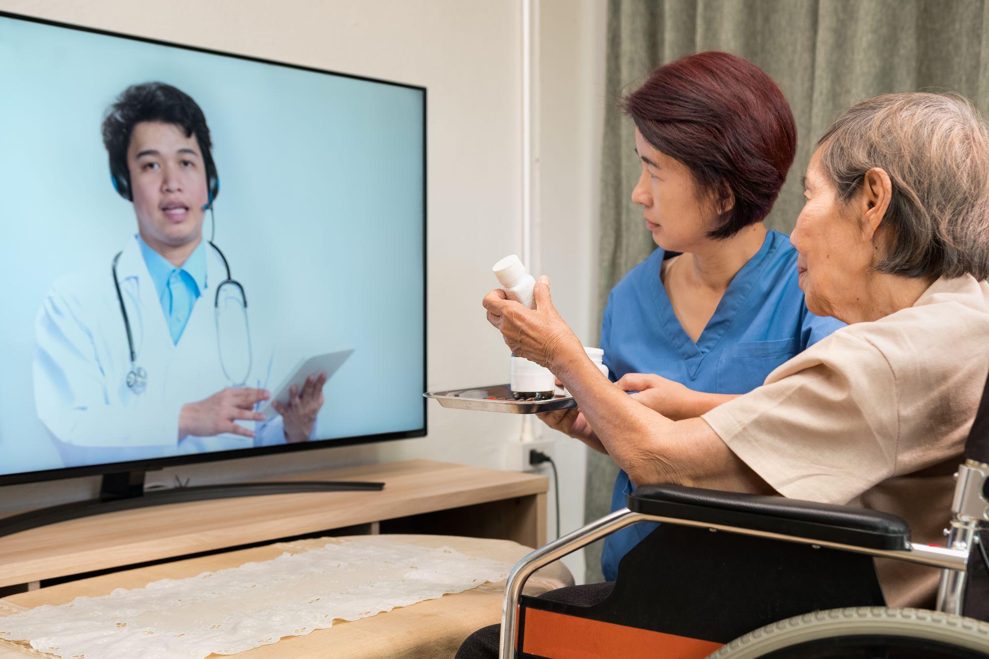 telemedicine to discuss covid-19 and clotting