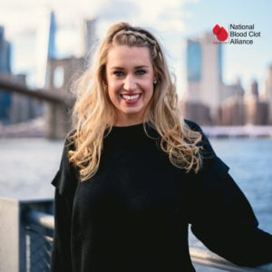 katie hoff team stop the clot ambassador for the sports and wellness institute